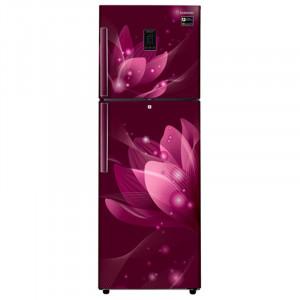 Samsung 324 L RT34M5438R8/HL Frost Free Double Door Top Mount 3 Star Refrigerator(Saffron Red)