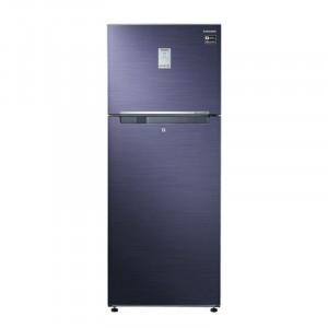 Samsung 345 L 3 Star RT37M5538UT/HL Frost Free Double Door Refrigerator (Pebble Blue)