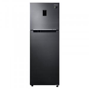 Samsung 345 L RT37M5538BS-HL Frost Free Double Door Top Mount 3 Star Refrigerator(Black Inox)