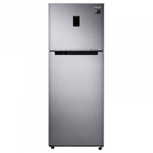 Samsung 415 L RT42M553ESL-TL 4 Star Frost Free Double Door Top Mount  Refrigerator  (Real Stainless)