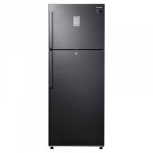 Samsung 478 L RT49K6338BS/TL 3 Star Frost Free Double Door  Refrigerator(Black Inox/black)