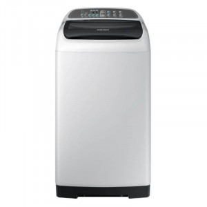 Samsung 6.5 kg WA65M4205HV/TL Fully Automatic Top Load Washing Machine (White & Black)