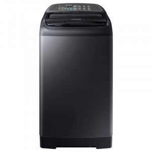 Samsung  6.5Kg WA65M4400HV/TL Top Loading with STS Pulsator (Black Stainless)
