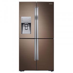 Samsung 655 L RF56K9040DP/TL Frost Free Side by Side Refrigerator  (Refined Bronze)