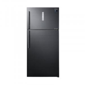 Samsung 670 L 3 Star RT65K7058BS/TL Frost Free Double Door Refrigerator (Black)