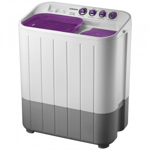 Samsung 7.0 kg  WT705QPNDMPXTL Semi-automatic Washing Machine (Grey and Purple)