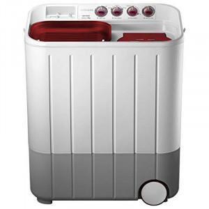 Samsung 7.0 kg WT707QPNDMWXTL Semi-automatic Washing Machine ( Grey and Red)