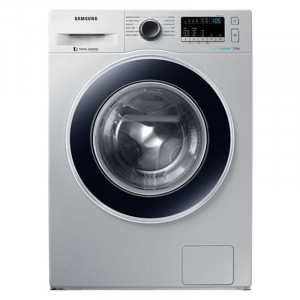 Samsung 7.0Kg  WW70J4243JS/TL Front Loading with EcoBubble Washing Machine (Silver)