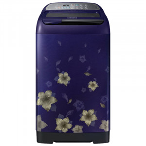 Samsung 7.5 kg  WA75M4010HL/TL Fully-Automatic Top Loading Washing Machine ( Star Flower Blue)