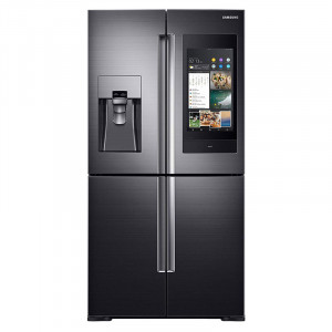 Samsung 810 L RF28N9780SG/TL Inverter Frost-Free Side-by-Side Refrigerator (Black Stainless)