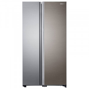 Samsung 868 L RH80J81323M/TL Frost Free Side by Side Refrigerator  (Real Stainless)