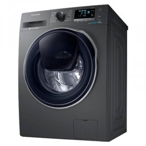 Samsung 9/6 kg WD90K6410OX/TL Fully Automatic Front Load Washer with Dryer (Inox Grey)