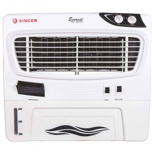 Singer 54 L Everest Senior Personal Cooler  (White)