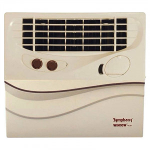 Symphony 41 L Window 41 Jet Desert Air Cooler (Ivory)