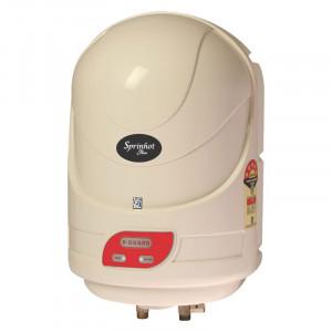 V-Guard 10 L Sprinhot Plus  Water Heater (White)