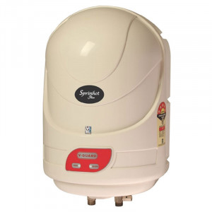 V-Guard 15 L Sprinhot Plus  Water Heater (Ivory)