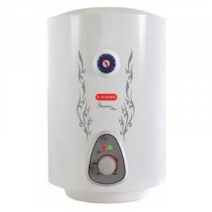 V-Guard 15 L Steamer Plus ECS  Storage Water Heater  (White)