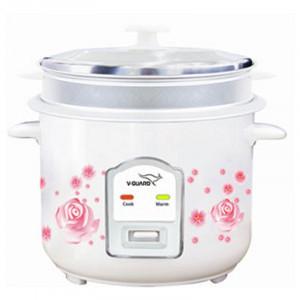 V-guard 2.2 L VRC 2.2 (S) Electric Rice Cooker(White)