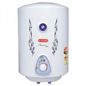 V-Guard 25 L Steamer Plus MSV Geyser (White)