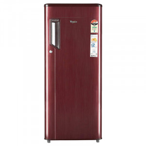 Whirlpool 215 L 4 Star 230 IMFRESH PRM 4S Direct Cool Single Door Refrigerator (Wine titanium)