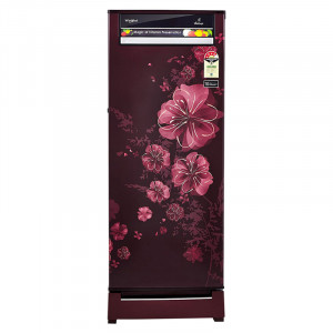 Whirlpool 215L 4 Star 230 VITAMAGIC ROY 4S Direct Cool Single Door Refrigerator (Wine Dahlia)