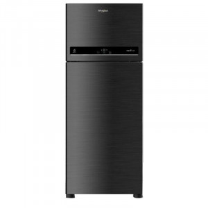 Whirlpool 440 L 3 Star If 455 3S Frost Free Double Door Refrigerator (Caviar Black)