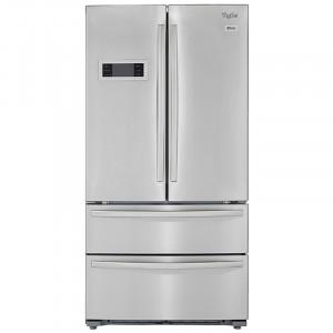Whirlpool 570 L 702 French Door Bottom Mount Frost Free Multi-Door Refrigerator (Stainless Steel)