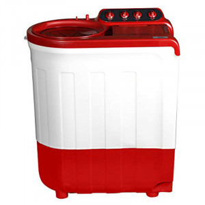 Whirlpool Ace Supersoak 8.0 Kg Semi Automatic Washing Machine (Coral  Red)