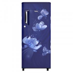 Whirlpool IceMagic Powercool 190 L 3 Star  205 IMPWCOOL PRM 3S  Direct Cool Refrigerator (Sapphire Flora)