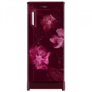 Whirlpool  IceMagic Powercool 200 L 3 Star 215 IMPWCOOL ROY 3S Direct Cool Refrigerator (Wine Magnolia)