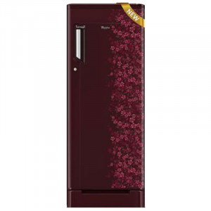 Whirlpool Ref DC 215 L 230I-M Roy WE 5/4S 5 Star  Single Door Refrigerator (Red)
