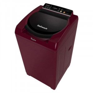 Whirlpool Stainwash Ultra 80H 8 kg Fully-Automatic Top Loading Washing Machine (Pearel Wine)