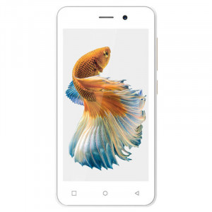 Zen Admire Thrill+ (White & Gold, 8GB)